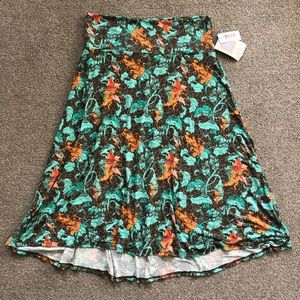 LulaRoe Azure Wear as Maxi Skirt or Top L Floral